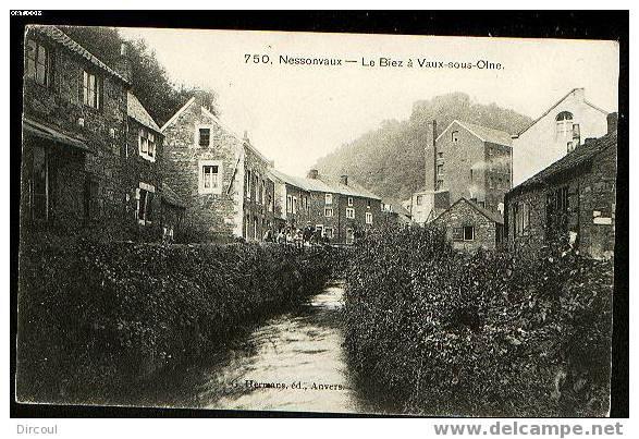 5958 -   Nessonvaux  Le Biez à Vaux-sous-Olne - Olne