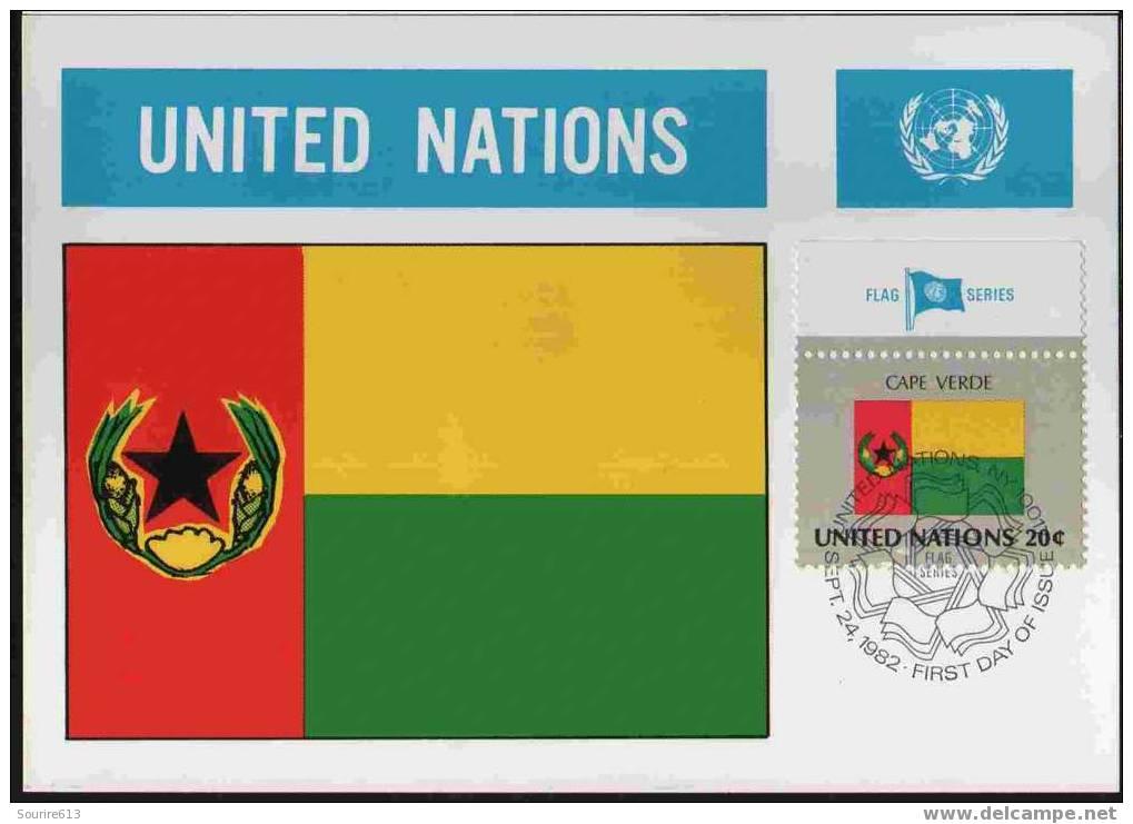 CPJ Nations Unies 1982 Drapeaux Cap-Vert - Briefe