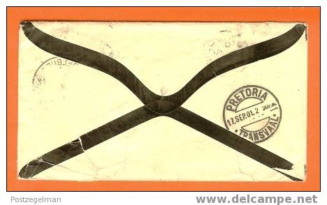 ZAR 1901 Overlijdens Enveloppe (censor Letter Boerwar) F1019a+b - South Africa (...-1961)