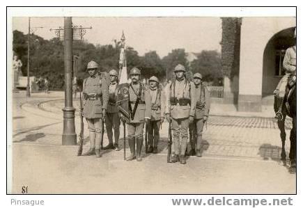 Millitaires Francais à COBLENCE  Le 14 Juillet 1924 - Carte Photo - Manoeuvres