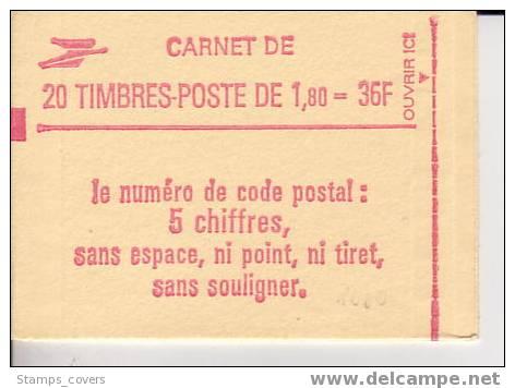 FRANCE CARNET/BOOKLET MNH** YVERT 2220 C8 €19.00 CONF. 8 - Carnets