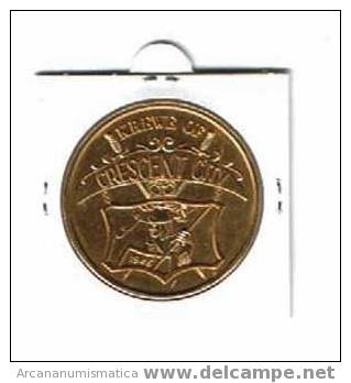 ESTADOS UNIDOS U.S.A.  Medalla NEW ORLEANS/CRESCENT CITY     DL-620 - Sin Clasificación