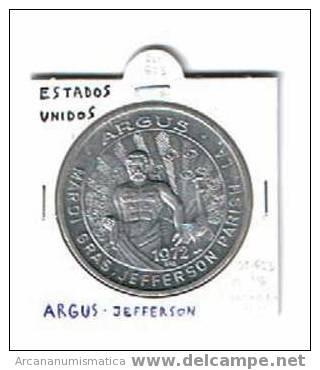 ESTADOS UNIDOS U.S.A.  Medalla ARGUS-JEFFERSON     DL-623 - Sin Clasificación