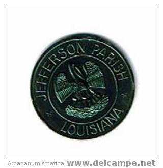 ESTADOS UNIDOS U.S.A.  Medalla JEFFERSON PARISH LOUSIANA TO THE COLLEENS   DL-625 - Sin Clasificación