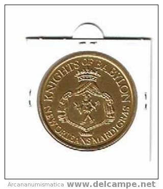 ESTADOS UNIDOS U.S.A.  Medalla NEW ORLEANS / BABYLON    DL-627 - Estados Unidos