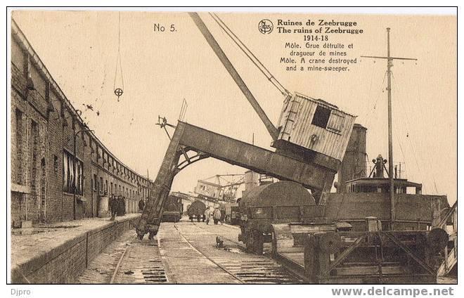 Zeebrugge Ruines De Zeebrugge  1914-1918  Nr 5 - Zeebrugge
