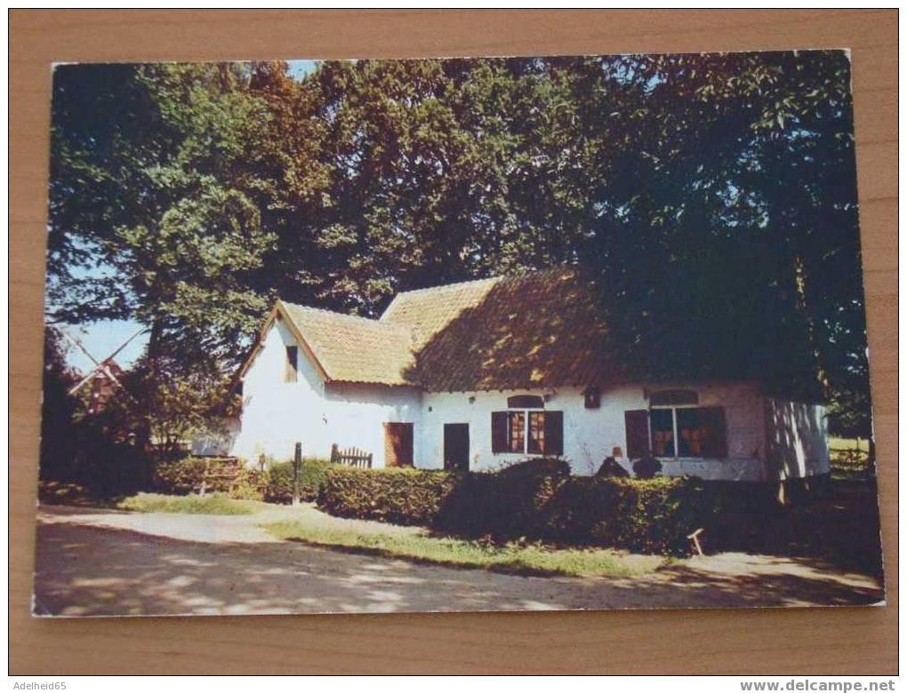 (2 Scans) Bokrijk, Derde Lustrum Reeks, 1973, Klein Vakwerkhuis Uit Kortessem - Genk