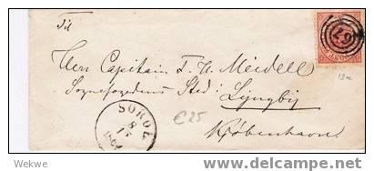 Dk-C9-009/   DÄNEMARK - Ringstempel 67, Soroe 1864 - Briefe U. Dokumente