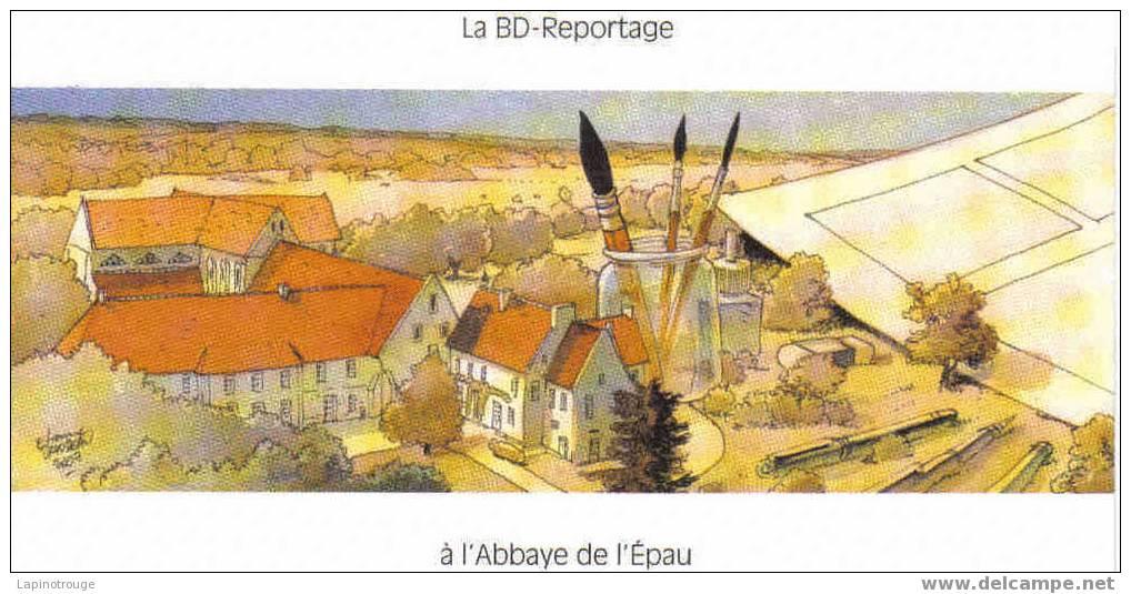 Carte Postale DAVODEAU Etienne Festival BD Abbaye De L'Epau 2007 (Rural,...) - Postkaarten
