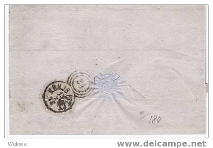 Dk-C9-016/ Foodpost 1868 Mit Facit 11 (2 S.) - 1864-04 (Christian IX)