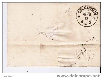 Dk-C9-012/ Wappen Im Oval 20 Ö. 1886 N. Köln - 1864-04 (Christian IX)
