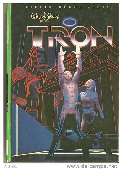 TRON - Walt Disney - Bibliothèque Verte * Science Fiction / Fantastique - Books, Magazines, Comics