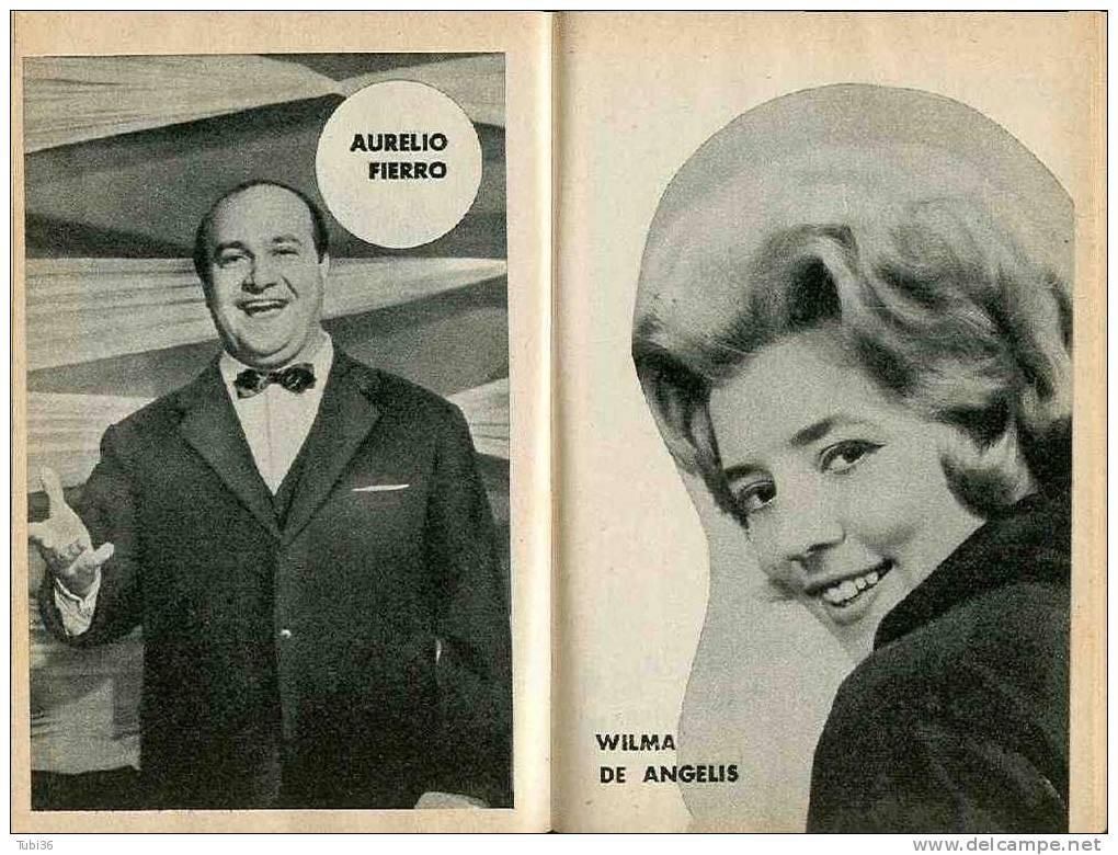 """""""LE CANZONI DEL FESTIVAL 1963"""" SANREMO 13° FESTIVAL DELLA CANZONE - Musica Popolare"""