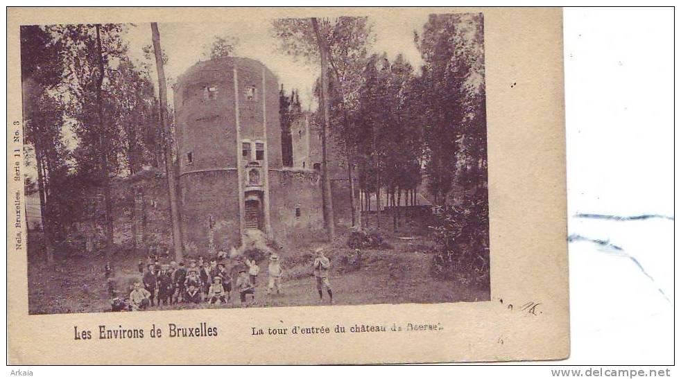 BEERSEL = La Tour D'entrée Du Château - Très Animée  (Nels  S.11  N° 3) écrite - Beersel