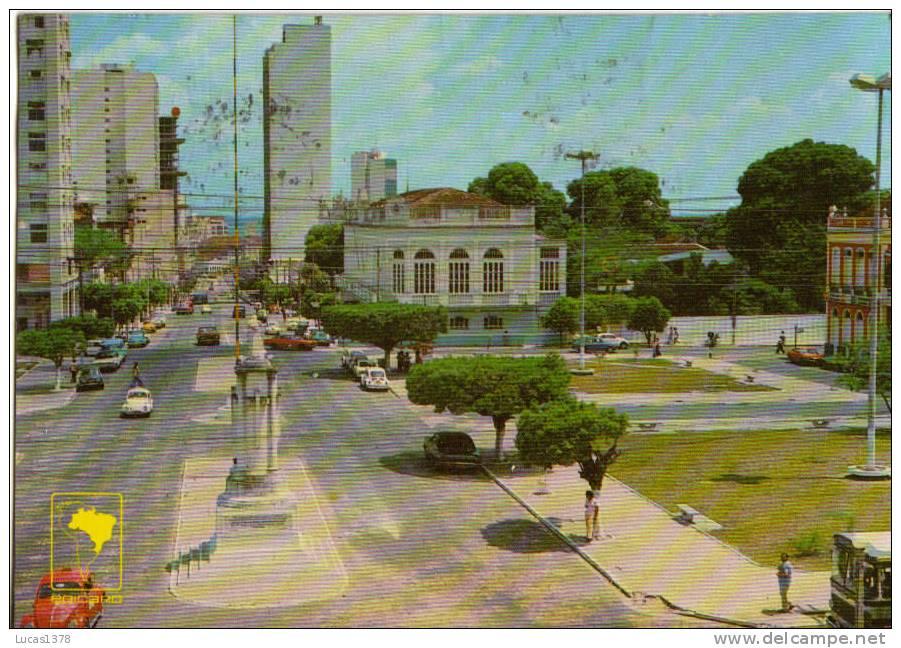 BRASIL / MANAUS / PRACA DO CONGRESSO E AVENIDA EDUARDO RIBEIRO - Manaus
