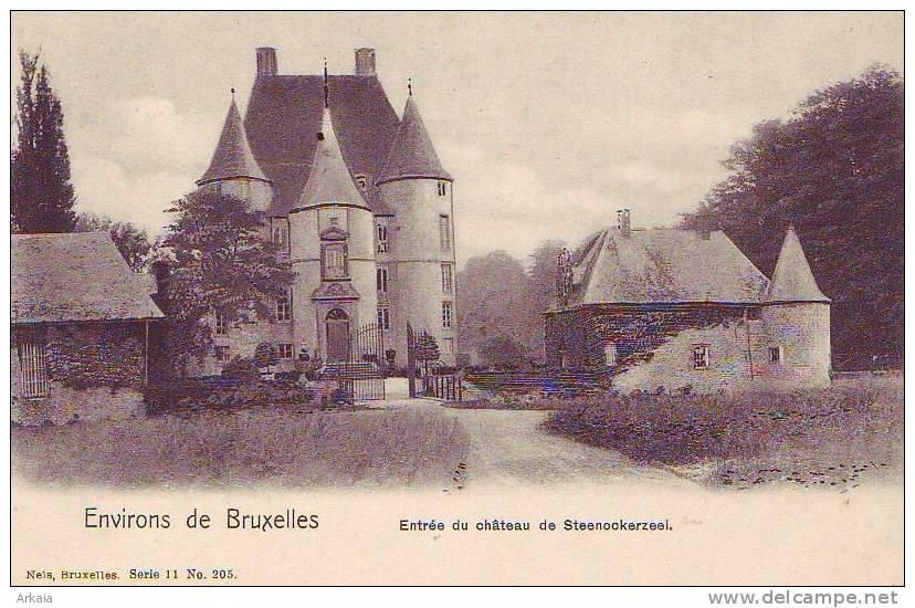 STEENOCKERZEEL = Entrée Du Château  (Nels  S.11  N° 205) Vierge - Steenokkerzeel