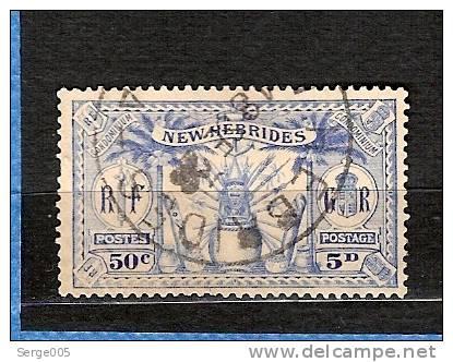 NOUVELLES HEBRIDES VENTE No  A / 59 - Neue Hebriden