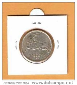 LITUANIA LIETUVA LITHUANIA  5 LITAI  PLATA 1.936 EBC  KM#82  DL-733 - Lituania