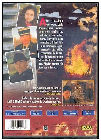 DVD: Fait D'hiver. - Azione, Avventura