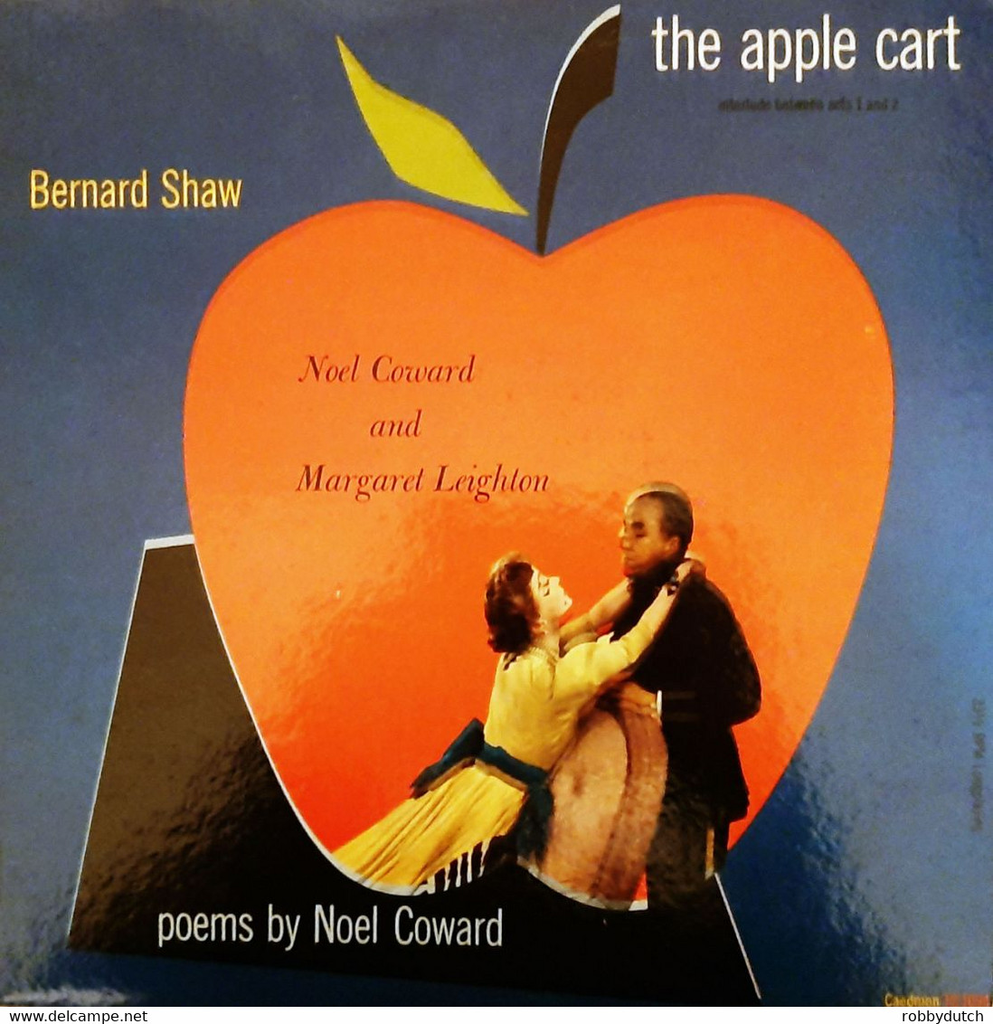 * LP * BERNARD SHAW: THE APPLE CART / POEMS BY NOËL COWARD (USA Ex!!!) - Collector's Editions