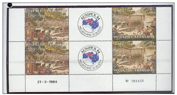 Polynésie: PA 184 Et 185 En CD (Ausipex 84,exposition Philatélique Internationale De Melbourne) - French Polynesia