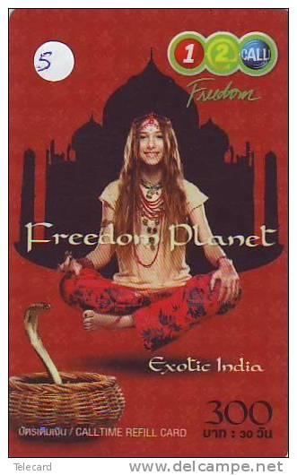 Télécarte Thailand INDIA Related (5) - Inde