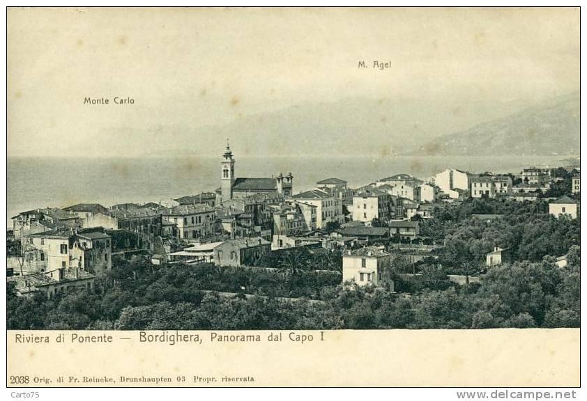 ITALIE - Bordighera - Panorama Dal Capo - Imperia