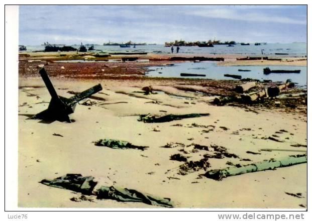 OMAHA BEACH   -  Après Les Premiers Combats - Guerre 1939-45