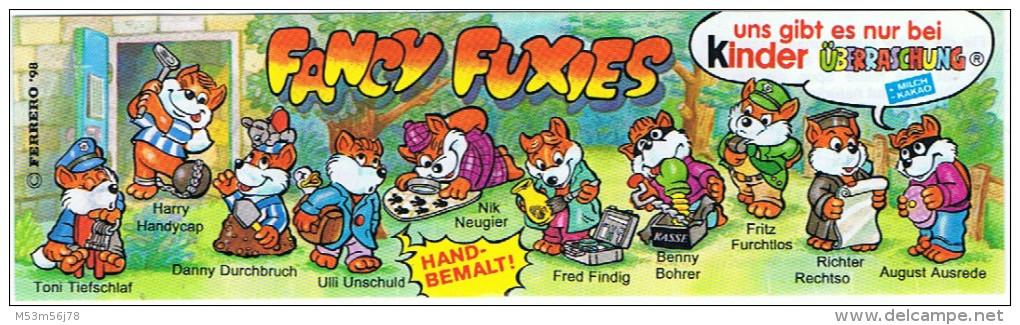 Ü-Ei - Fancy Fuxies 1998 - Nik Neugier Mit BPZ - Maxi (Kinder-)