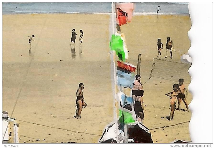 GIRONDE / LACANAU-OCEAN / LES JEUX SUR LA PLAGE  ( Partie  De  BEACH-VOLLEY = VOLLEYBALL ) - Volleyball
