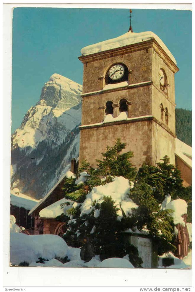 8092 SAMOENS 74 - Eglise  Et Le Criou . Cellard E.8741 - Samoëns