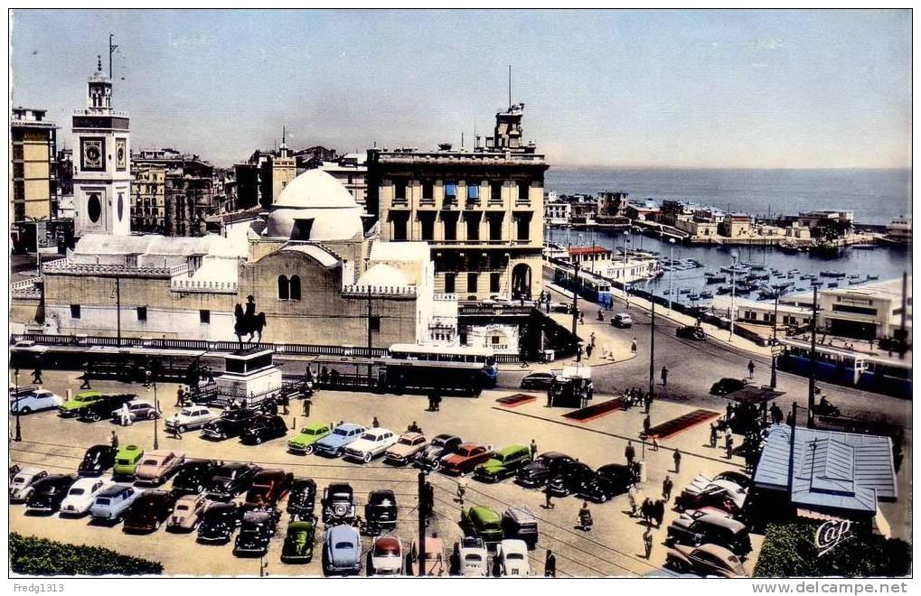 Alger - Place Du Gouvernement Et L´Amirauté - Alger