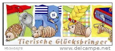 Ü-Ei - Tierische Glücksbringer 1999 - Maus Mit BPZ - Maxi (Kinder-)