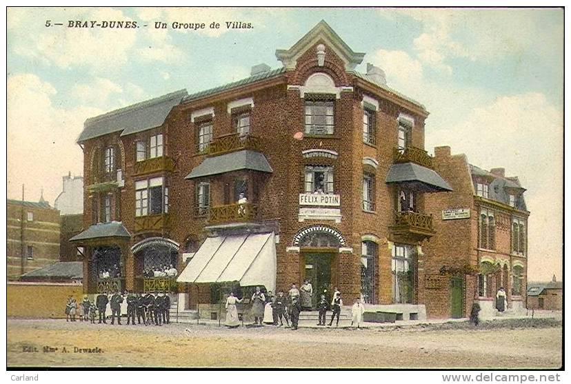 Bray - Dunes : Un Groupe De Villas - Félix Potin - France
