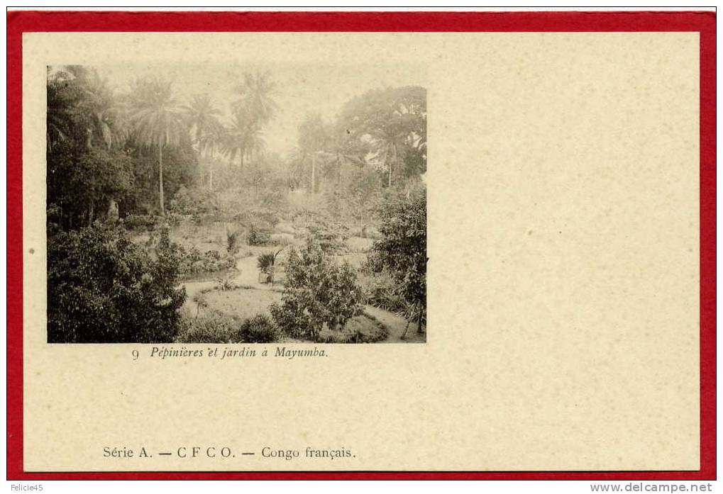 510a - Congo Français - Pépinières Et Jardins à Mayumba - Französisch-Kongo - Sonstige