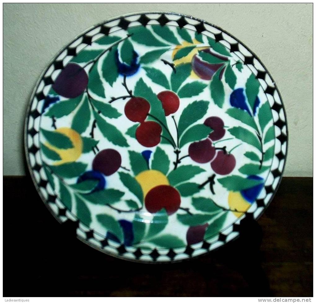 V § B Wallerfangen 1874-1909 - Assiette - Bord - Plate - AS 1797 - Villeroy/Boch (LUX)