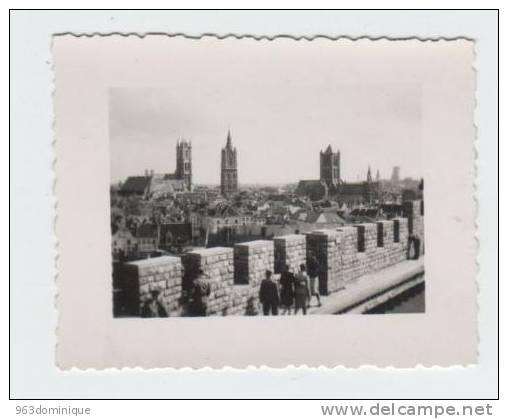 Gent Panorama    - Foto Genomen Door Duits Soldaat Tijdens WO II - Lugares
