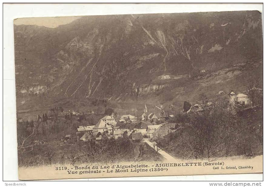 7860 Aiguebelette - Vue Generale Mont Lepine . 3119 Grimal . - France