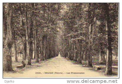 Carte Postale De Decize - Les Promenades. - Decize