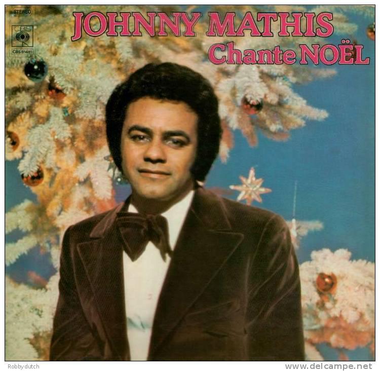 * LP * JOHNNY MATHIS - CHANTE NOËL - Weihnachtslieder