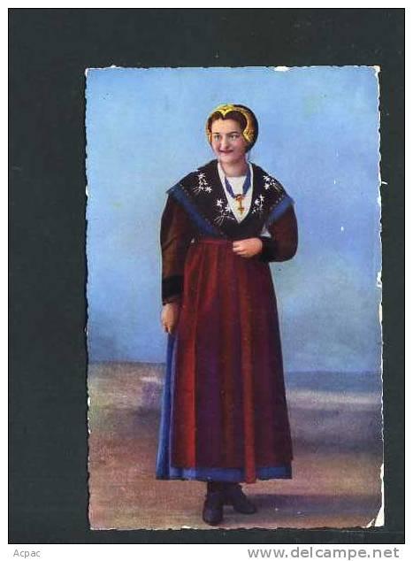 73  TARENTAISE ... Costume Regional De Savoie. - France
