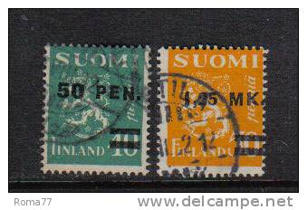 PD64 - FINLANDIA 1931 , Serie N. 168/169 - Finlandia