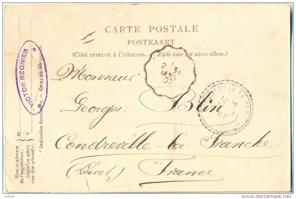 Cc737:  Chatelet De Heusch, Bois De Banneux Verstuurd Uit OLNE >> F - Olne