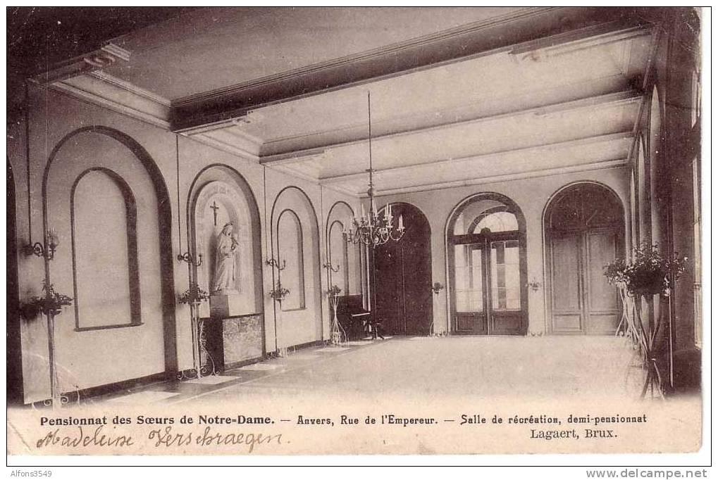 Antwerpen Pensionnat Des Soeurs De Notre-Dame Salle De Récréation - Anvers - Antwerpen