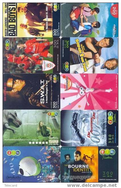 THAILAND Thailande 10 Telecartes Phonecards (23) - Thaïlande