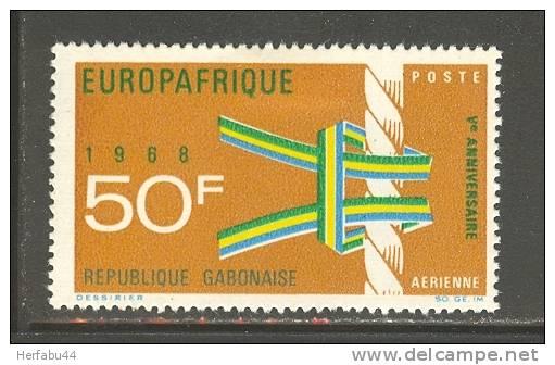 Gabon      Europafrica      Set      C# C 67 Mint - Gabon