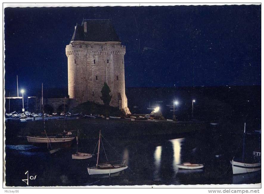 St Servan--La Tour Solidor La Nuit,csm Gd Format N°MX 7311 éd JOS - Saint Servan