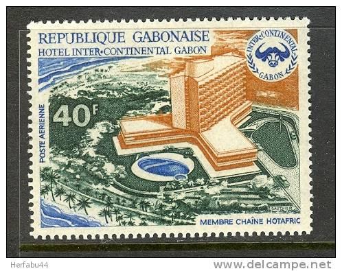 Gabon      Hotel Intercontinental       Set     SC# C 127 Mint - Gabon