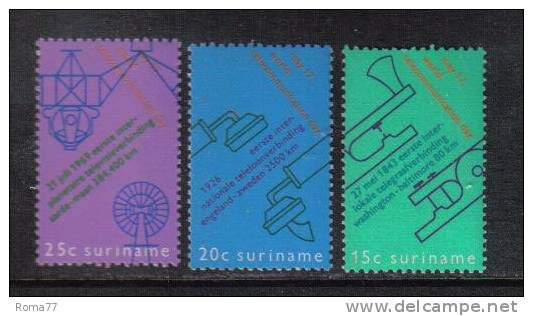 PD246 7 8 - SURINAME ,  Tre Serie Yvert Diverse  *** - Suriname ... - 1975