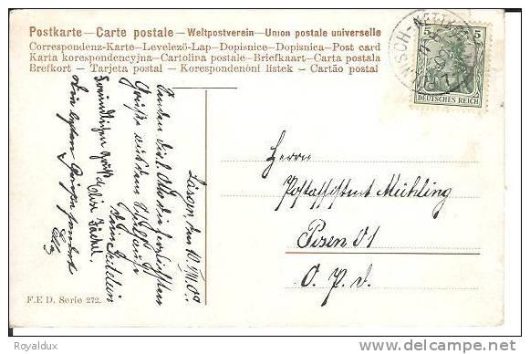 Polnisch Nettkow 1909 Nietkow Schlesien - Schlesien